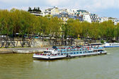 Seine River in Paris, France — Stock Photo