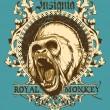 Royal monkey — Stockvektor