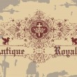 Stockvektor : Antique Royalty