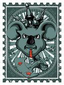 Король Крыса — Cтоковый вектор