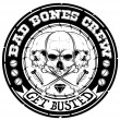 Stock Vector: Bad bones crew
