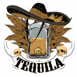 Tequila — Stock Vector #40003903
