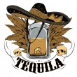 Tequila — Stock Vector