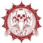 United skulls — Stock Vector #40003989