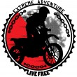 Extreme adventure — Vector de stock #40203153