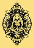 Grim Reaper — Stockvector