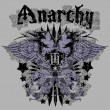 Stockvektor : Anarchy