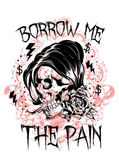 Borrow me the pain — Vector de stock