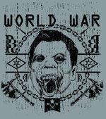 Světová válka — Stock vektor