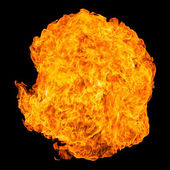 Fireball explosion — Stock Photo