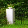 Gatepost — Stock Photo
