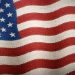 United States of America flag textured - Illustration — Stock Photo