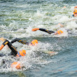 Mens ITU World Triathlon Series — Stock Photo