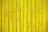 Old yellow wood panels — Stock Photo