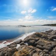 Coast of Baltic sea in early spring — Stock Photo #24080003