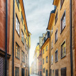 The Old Town in Stockholm — Stock Photo