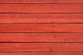 Old red wood panels — Stock Photo