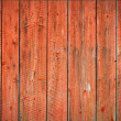 Red worn planks background - Stock Photo