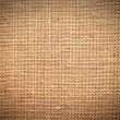 Fabric texture in brown, vignetted — Stock Photo