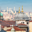 Rooftop view over Istanbul — Stock Photo