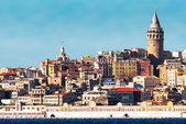 Galata tower in Istanbul — Stock Photo