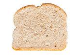 Toast geïsoleerd op wit — Stockfoto