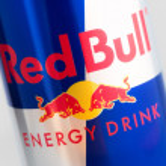 ������, ������: Red Bull logo on aluminium can