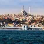 Sea view in Istanbul, Turkey — Stock Photo