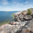 Rocky coastline at the Baltic sea — Zdjęcie stockowe #45767423