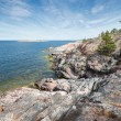 Rocky coastline at the Baltic sea — Foto Stock #45767423