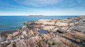Archipelago at a rocky coast — Stock Photo
