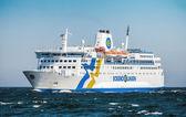 Passenger ship MS Eckero at sea — Stock Photo