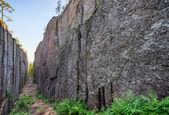 Ravine at the High Coast, Skuleskogen National Park — Stock Photo