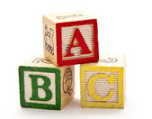 ABC Blocks — Foto de Stock