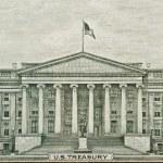 US Treasury Department Washington DC — Stock Photo