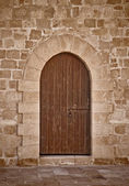Old Door Background — Stock Photo