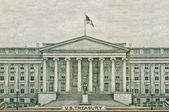 US Treasury Department Washington DC — Stock Photo