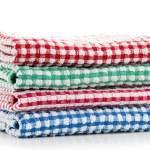 Housekeeping Towels — Stock Photo