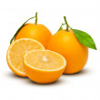 Orange Fruits — Stock Photo #17972273
