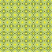 Gelast geometrische groene patroon — Stockvector