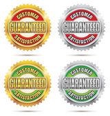 Customer Satisfaction Guaranteed Seal — Stock Vector