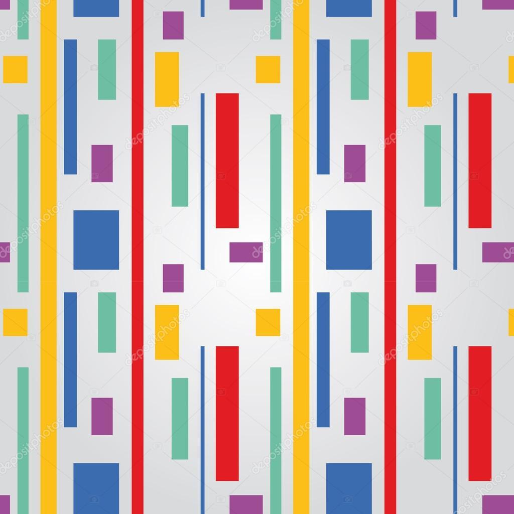 Colores de l neas y cuadros de patrones sin fisuras - Cuadros de colores ...