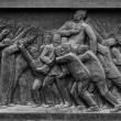 Egyptian Historical Uprising Sculpture — Stock Photo