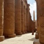 Karnak Columns. Luxor, Egypt — Stock Photo
