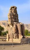 Colossi of Memnon at Luxor — Stock Photo