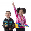 Stock Photo: Happy Kids Music Band
