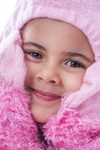 Lovely Child Wearing Fancy Dress Costume — Stock Photo