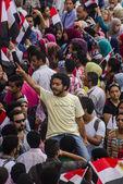 Egyptian Activist Protesting Against Muslim Brotherhood — Stock Photo