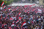 Egyptian Protesting Against Muslim Brotherhood — Foto Stock