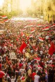 Egipcio manifestación contra la hermandad musulmana — Foto de Stock
